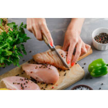 Friss csirkemell filé szeletelve /több méretben is rendelhető!/ vcs. cca. 3kg