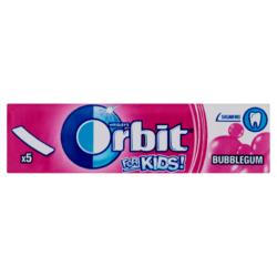 Orbit for Kids! gyümölcsízű cukormentes rágógumi  5 db 13 g