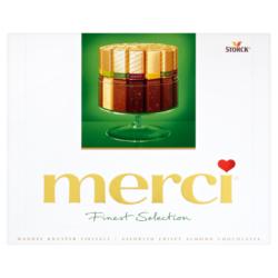 Merci Finest Selection 4 mandulás csokoládé különlegesség 250 g