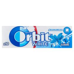 Orbit White Classic mentaízű rágógumi cukornentes 10 db 14 g