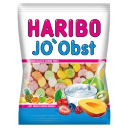 Haribo Jo'Obst gyümölcs ízű gumi cukorka sovány joghurt porral 85g