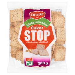 Detki Cukor Stop háztartási keksz cukor hozzáadása nélkül 200 g