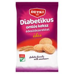 Detki diabetikus édes omlós keksz édesítőszerekkel 200 g