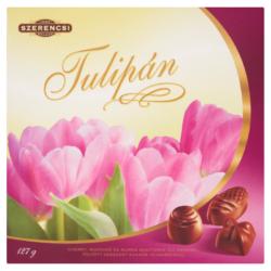 Szerencsi tulipán töltött desszert 127g