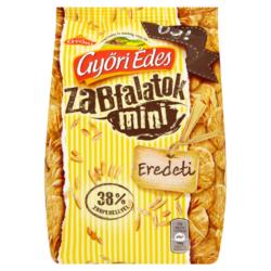 Győri Édes Zabfalatok Mini zabpelyhes keksz 140 g