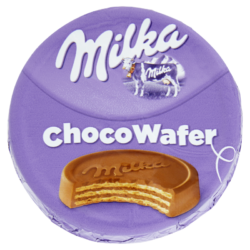 Milka ChocoWafer kakaós töltelékkel alpesi tejcsokoládéval bevont ostya 30g