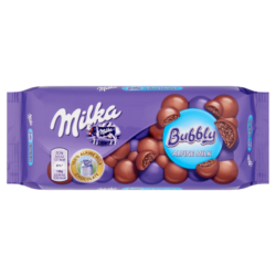 Milka Bubbly alpesi tejcsokoládé levegőbuborékokkal 90g