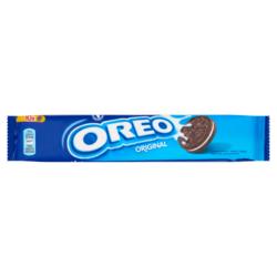 Oreo Original vanília ízű krémmel töltött kakaós keksz 110 g
