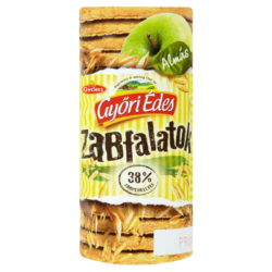 Győri Édes Zabfalatok almás zabpelyhes keksz 225 g