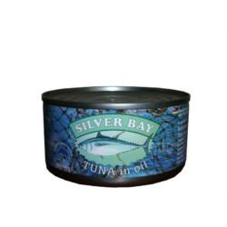 Silver Bay aprított tonhal növényi olajban 185 g
