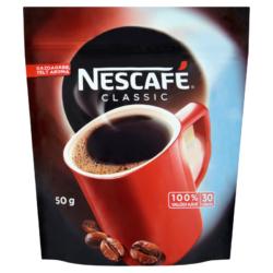 Nescafé  50 g Utánt Classic  instant kávé