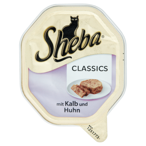 Sheba  állateledel macskáknak  85g Borjú