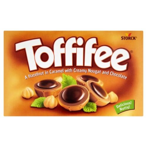 Toffifee mogyoró karamelben,mogyorónugkrémmel és csokoládéval 125g
