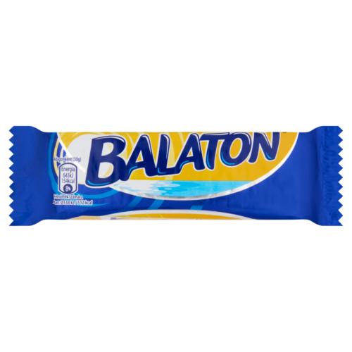 Balaton kakaós krémmel töltött ostya tejbevonó masszába mártva  30g
