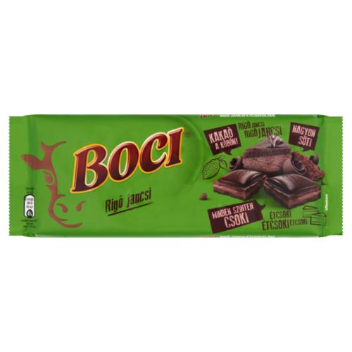 Boci Rigó Jancsi kakaós krémmel töltött étcsokoládé 90gr