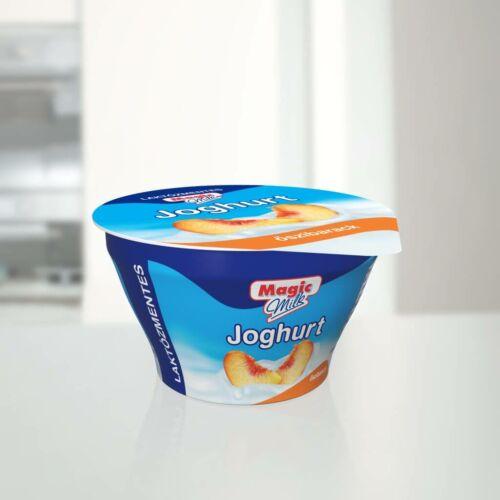 Magic Milk Laktózmentes gyümölcsjoghurt barackos 150g 5353