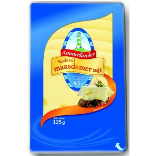 Maasdamer sajt szeletelt 125g Ammerland 5761