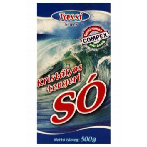 Tassi Kristályos tengeri só 500 g