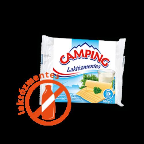 Camping szelet laktózmentes sajt 100g 3343
