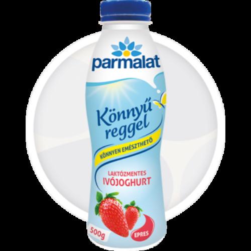 Parmalat laktózmentes epres ivó joghurt 12x500g