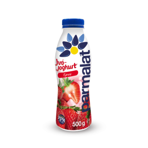 Parmalat ivójoghurt eper 500g