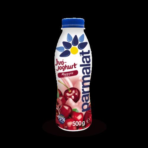 Parmalat ivójoghurt meggyes 500g