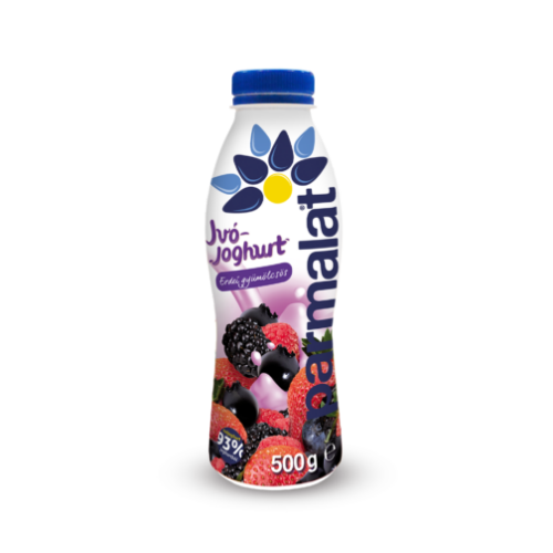 Parmalat ivójoghurt erdei gyümölcs 500g