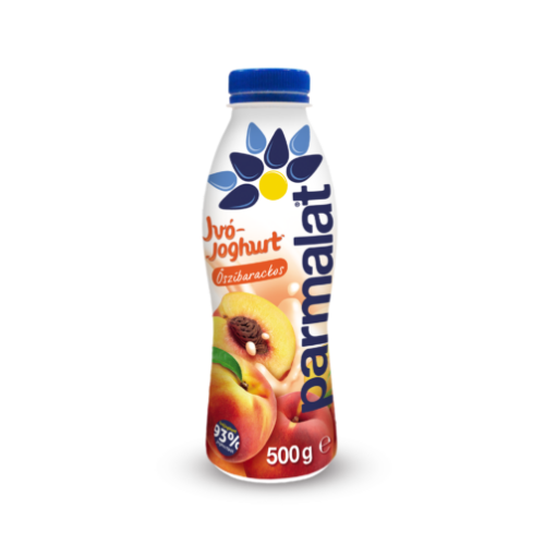 Parmalat ivójoghurt őszibarack 500g