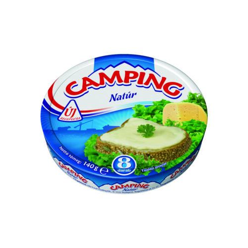CAMPING natúr kenhető, zsírdús ömlesztett sajt 140 g 3303