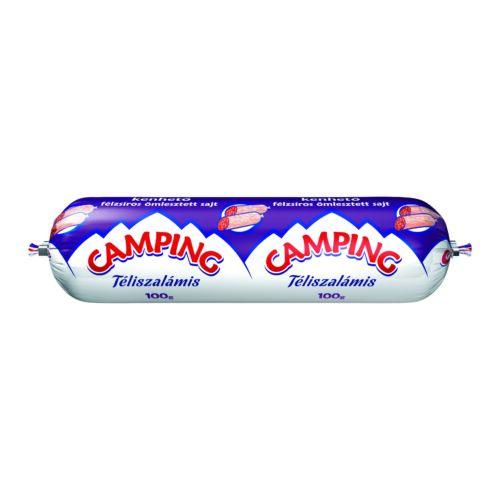 Camping téliszalámis kenhető félzsíros ömlesztett sajt 100 g 3320