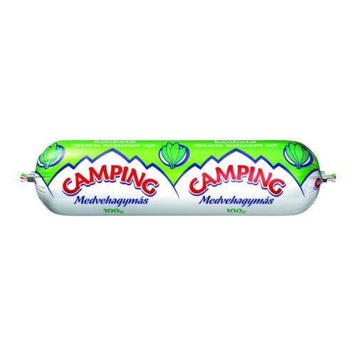 Camping medvehagymás kenhető félzsíros ömlesztett sajt 100 g 3317