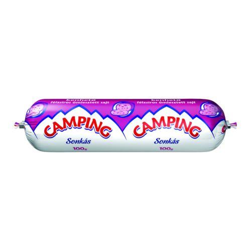 Camping sonkás kenhető félzsíros ömlesztett sajt 100 g 3318