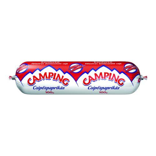 Camping Csípőspaprikás kenhető félzsíros ömlesztett sajt 100 g 3349