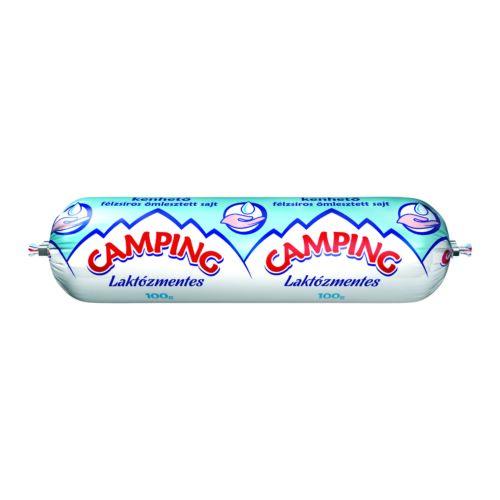 Camping laktózmentes kenhető félzsíros ömlesztett sajt 100 g 3350