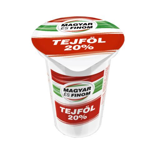 Magyar és Finom Tejföl 320 gr-os 20%-os 7201