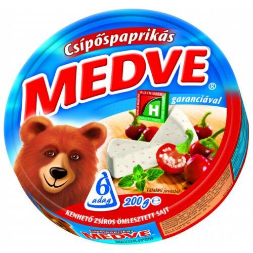 Medve sajt csípős dobozos 200g 4133