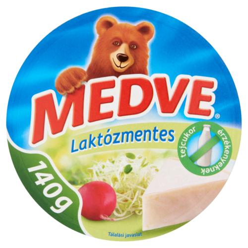 Medve sajt laktózmentes dobozos 140g 4125