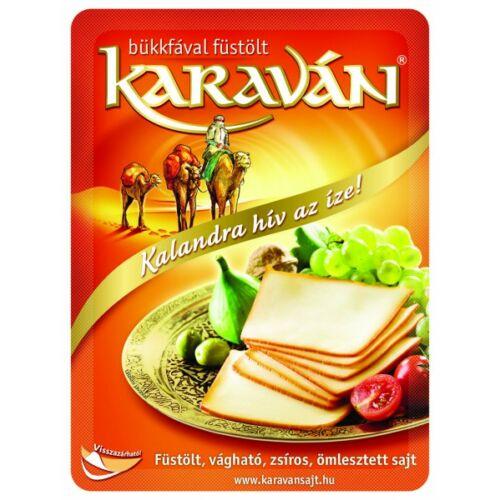 Karaván sajt szeletelt 125g 4122