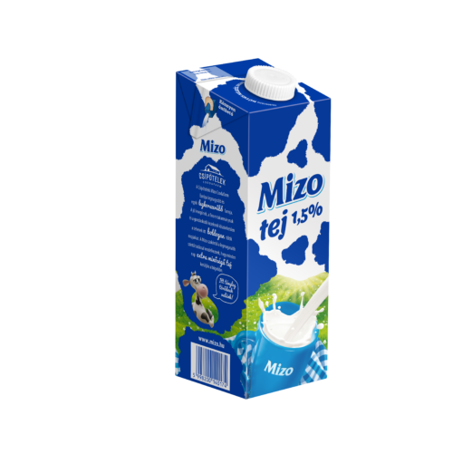 Mizo UHT dobozos tej Q-Pack 1,5% 1l 6031