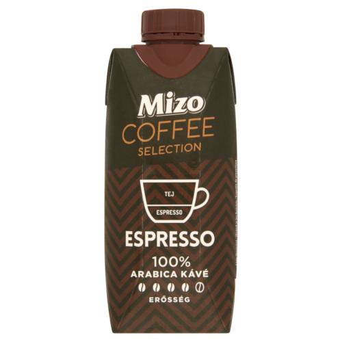 Mizo Coffee Selection félzsíros UHT kávés tej Espresso 330ml 6118