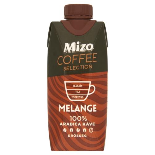 Mizo Coffee Selection félzsíros UHT kávés tej Melange 330ml 6117