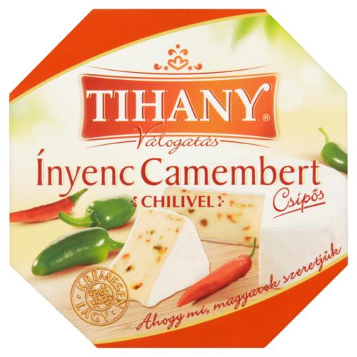 Tihany ínyenc camembert chilis 125g 8334