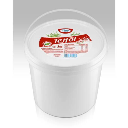 Fino tejföl 5kg -os 20%-os 7206
