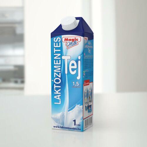 Magic Milk Laktózmentes UHT tej 1,5% 1l Naszály 5334