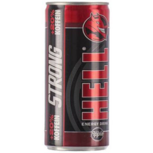 Hell energia ital 250 ml  Apple Strong