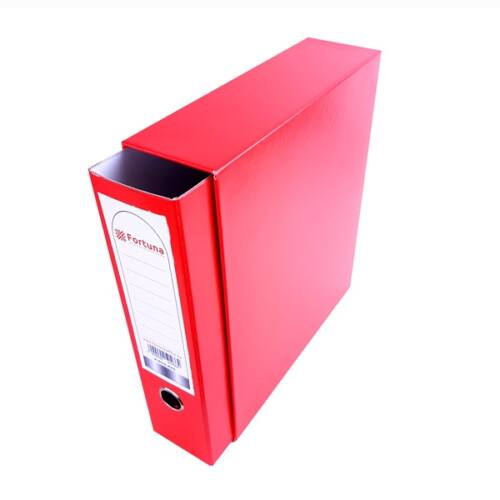 Iratrendező tokos FORTUNA A/4 piros