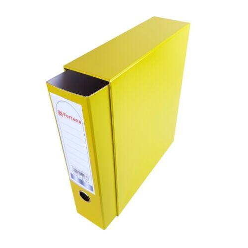 Iratrendező tokos FORTUNA A/4 sárga