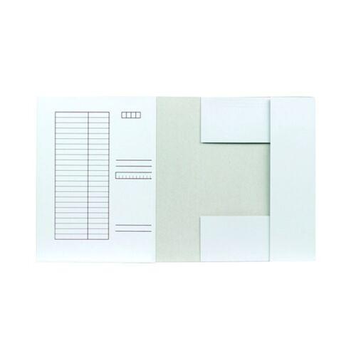 Iratgyűjtő FORTUNA pólyás fehér