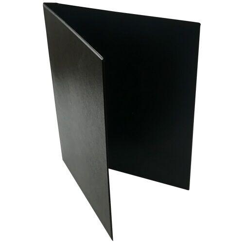 Mappa villámzáras FORTUNA A/4 pvc fekete