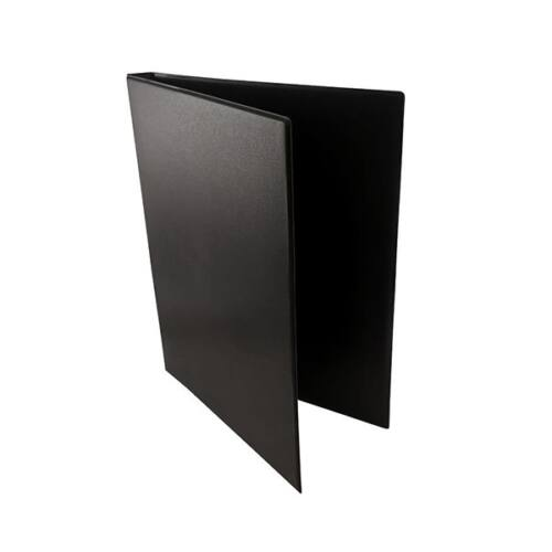 Mappa villámzáras A/5 pvc álló fekete